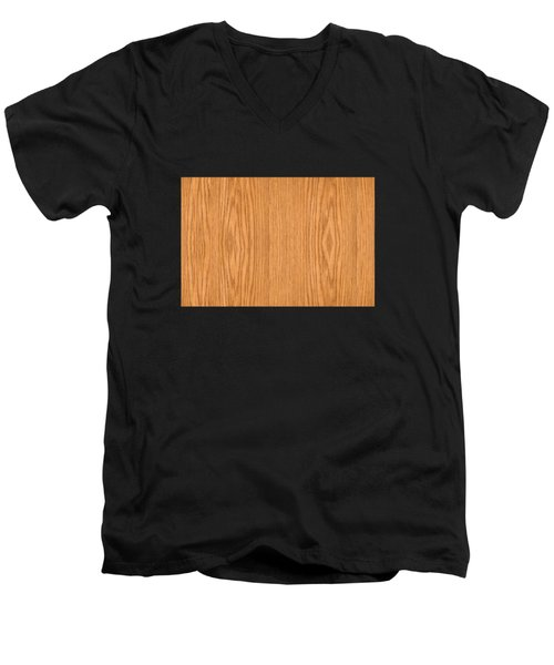 Wood 4 Men's V-Neck T-Shirt by Bruce Stanfield