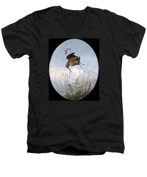 Woodcock Men's V-Neck T-Shirt