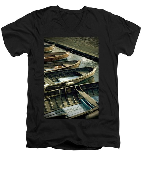 Wooden Boats Men's V-Neck T-Shirt