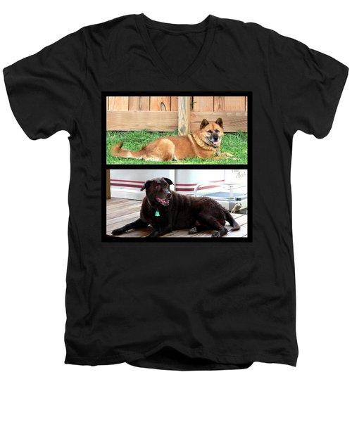 Wooten Babies Men's V-Neck T-Shirt