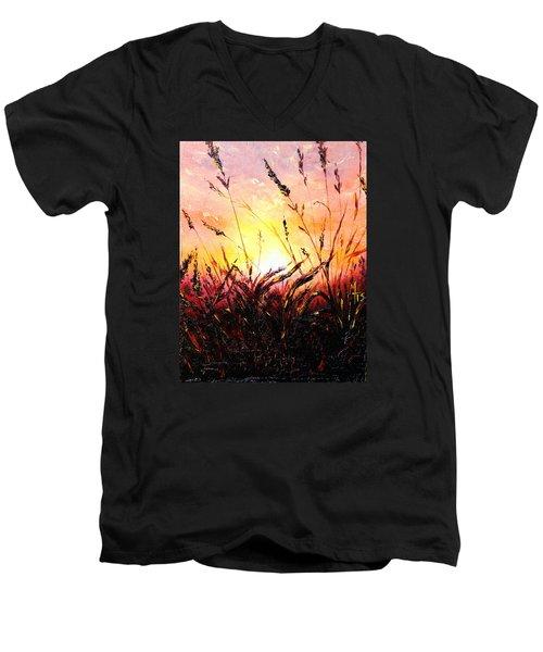 Words Like Fire Men's V-Neck T-Shirt