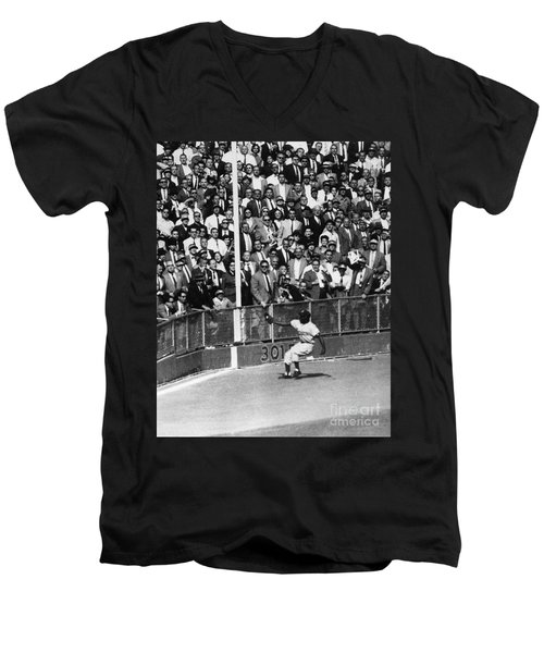 World Series, 1955 Men's V-Neck T-Shirt