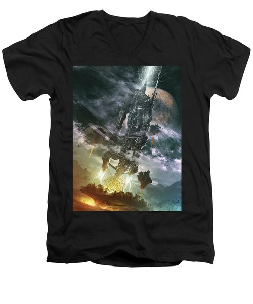 World Thief Men's V-Neck T-Shirt