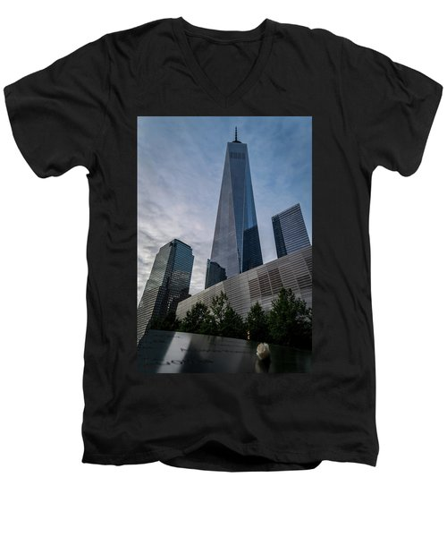 World Trade Center Remember Men's V-Neck T-Shirt