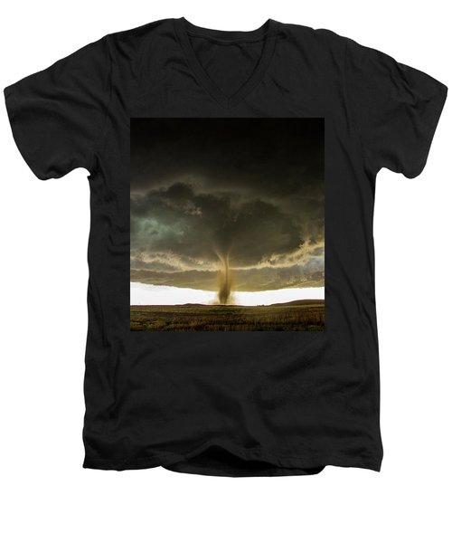 Wray Colorado Tornado 060 Men's V-Neck T-Shirt
