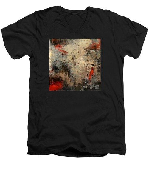 Wreckage Men's V-Neck T-Shirt by Tatiana Iliina