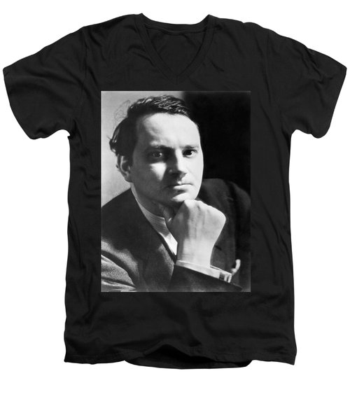 Writer Thomas Wolfe Men's V-Neck T-Shirt