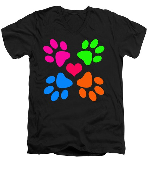 Year Of The Dog Men's V-Neck T-Shirt