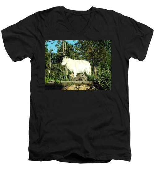 Yellowstone Wolf Pack Member Men's V-Neck T-Shirt
