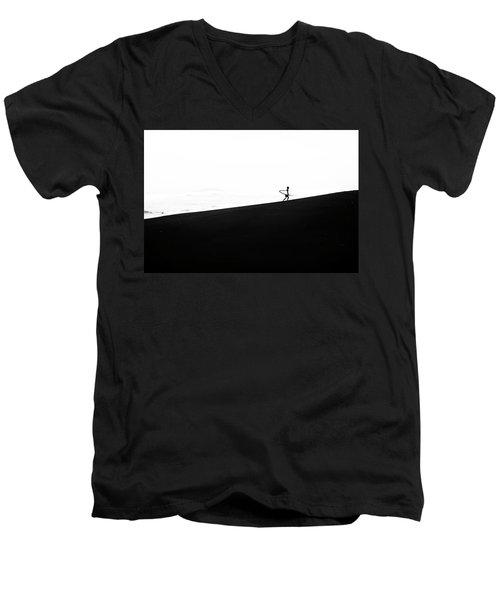 Yin Yang Men's V-Neck T-Shirt