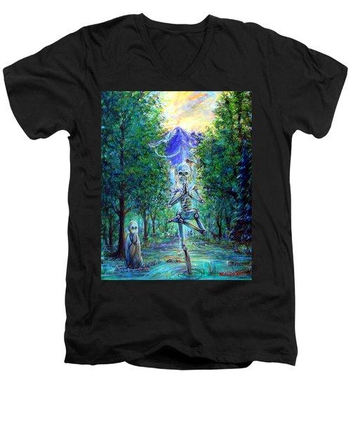 Yoga Tree Men's V-Neck T-Shirt