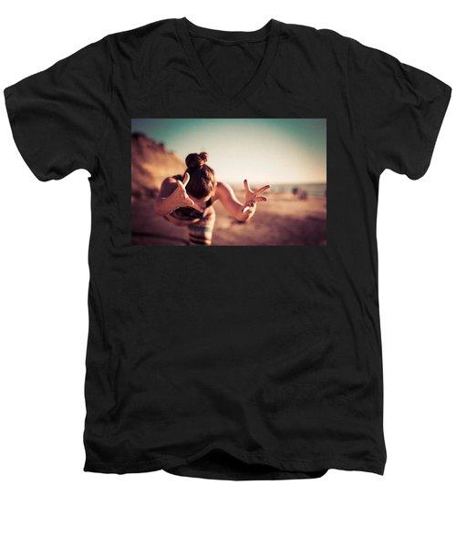 Yogic Gift Men's V-Neck T-Shirt