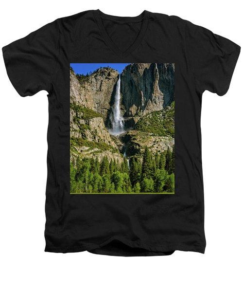 Yosemite Falls Men's V-Neck T-Shirt