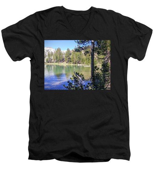 Yosemite Lake Men's V-Neck T-Shirt