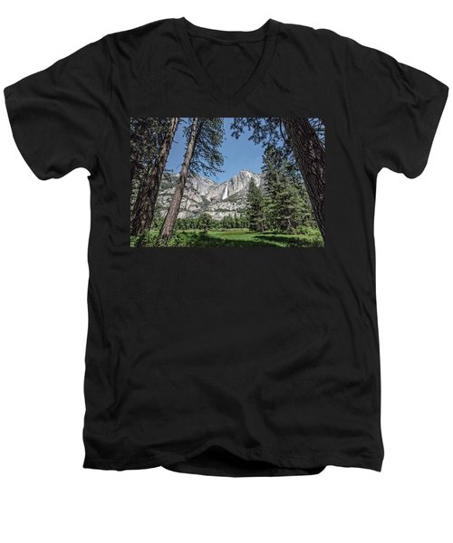 Yosemite View 13 Men's V-Neck T-Shirt