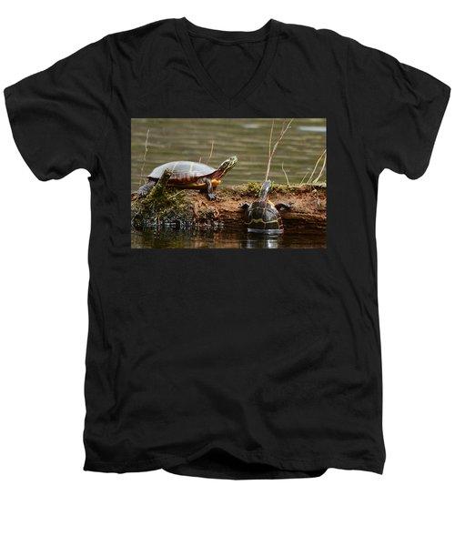 You Can Do It Men's V-Neck T-Shirt