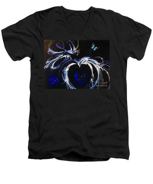 You Gave My Heart Wings Men's V-Neck T-Shirt
