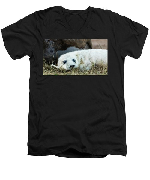 Young Pup Men's V-Neck T-Shirt