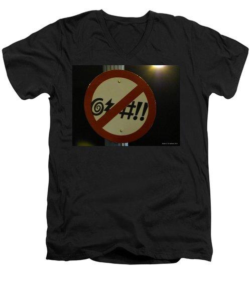 You've Got 2 B Kidding Men's V-Neck T-Shirt