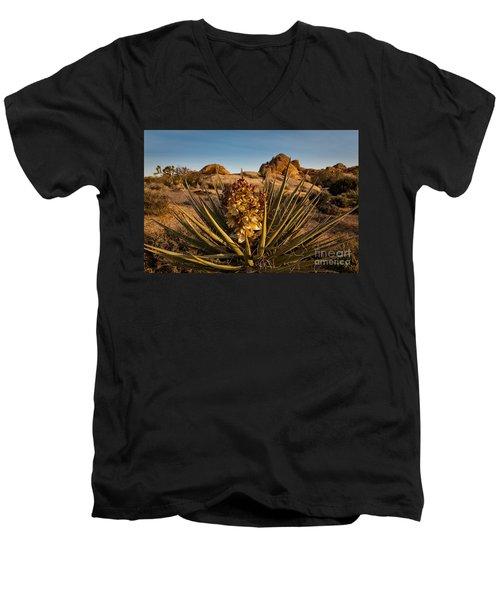 Yucca Bloom Men's V-Neck T-Shirt