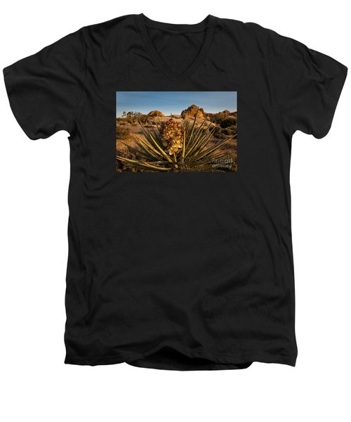 Yucca Bloom Men's V-Neck T-Shirt