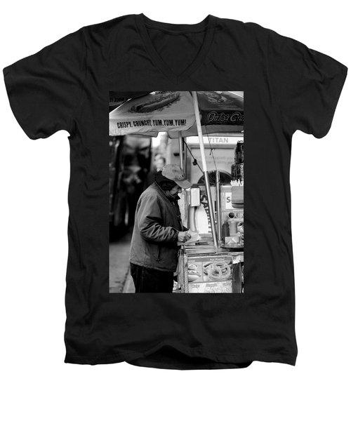 Yum, Yum, Yum Men's V-Neck T-Shirt