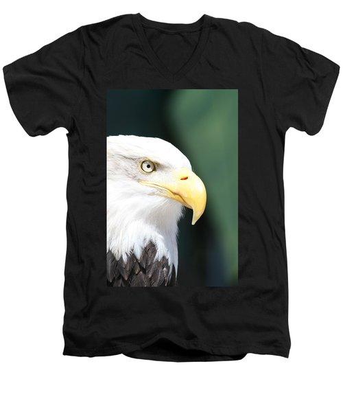 Zeroed In Men's V-Neck T-Shirt