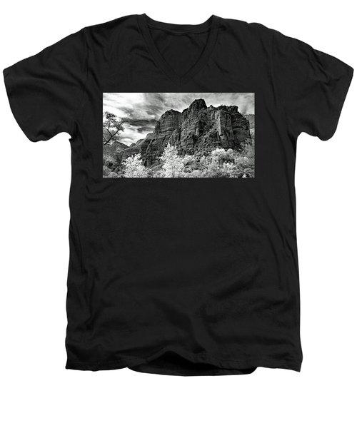 Zion No. 67-2 Men's V-Neck T-Shirt