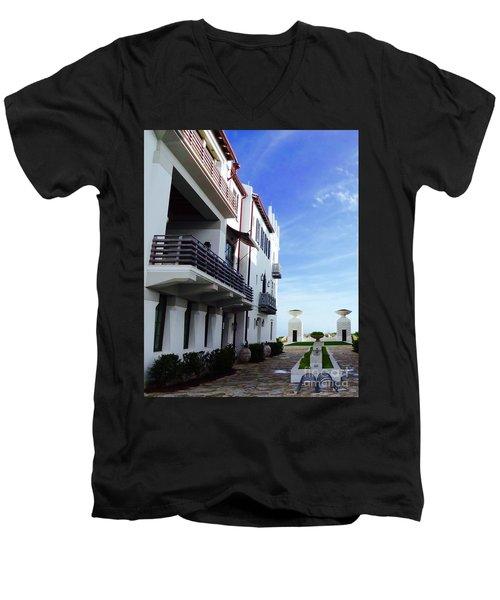 Alys Architecture Men's V-Neck T-Shirt