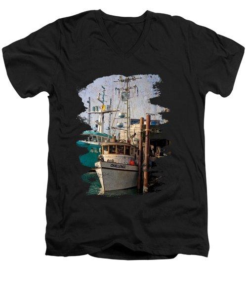 Challenge Men's V-Neck T-Shirt