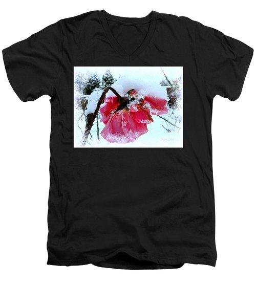 The Last Rose Men's V-Neck T-Shirt