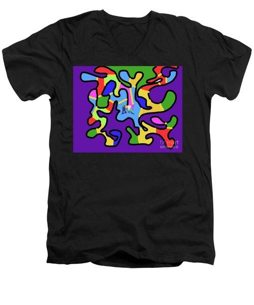 11-29-2008x Men's V-Neck T-Shirt