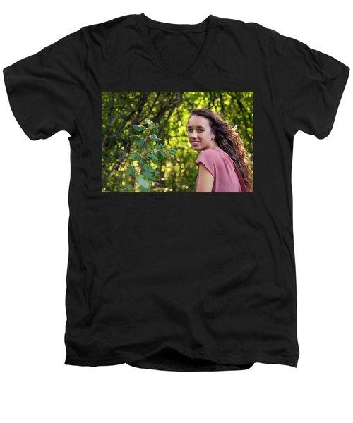 13A Men's V-Neck T-Shirt