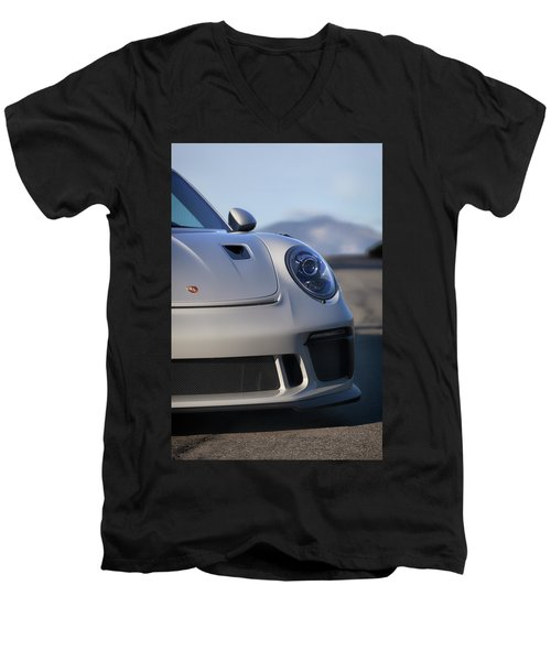 #porsche 911 #gt3rs #print Men's V-Neck T-Shirt
