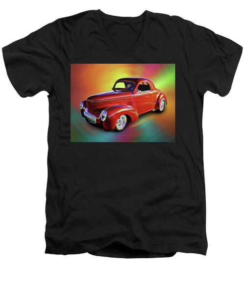 1941 Willis Coupe Men's V-Neck T-Shirt