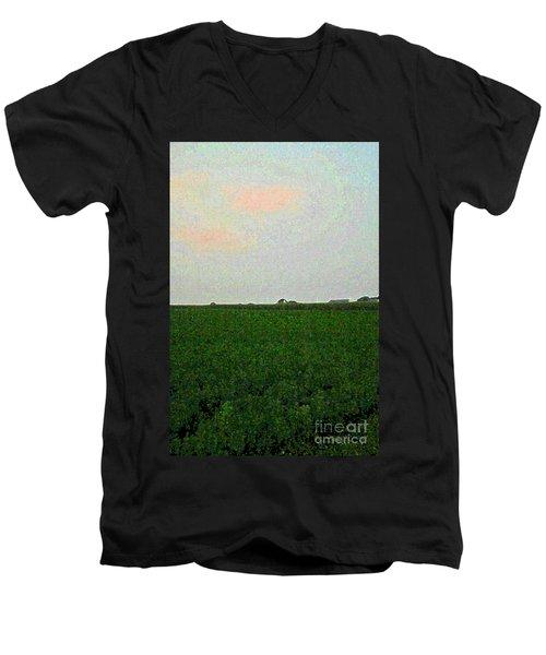 3-11-2009t Men's V-Neck T-Shirt