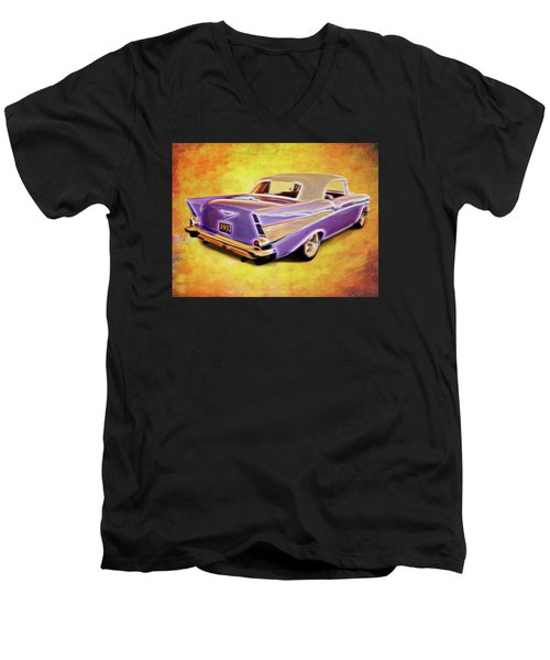 57 Droptop Men's V-Neck T-Shirt