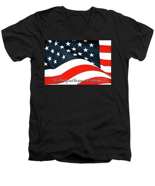 A Declaration Men's V-Neck T-Shirt