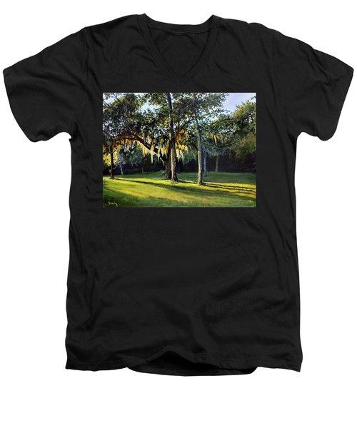 A New Sunset Men's V-Neck T-Shirt