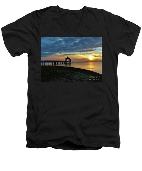 A Sense Of Place Men's V-Neck T-Shirt