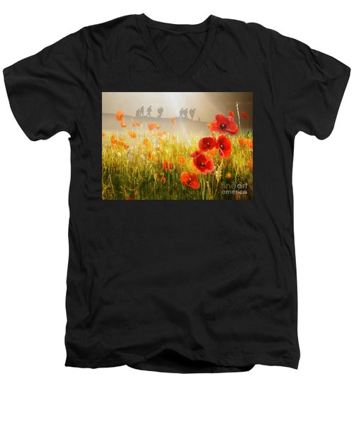 A Time To Remember Men's V-Neck T-Shirt