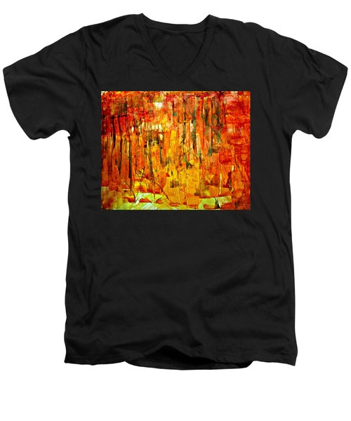 Ablaze Men's V-Neck T-Shirt