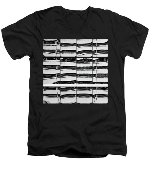 Abstritecture 40 Men's V-Neck T-Shirt