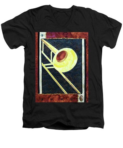 All That Jazz Trombone Men's V-Neck T-Shirt