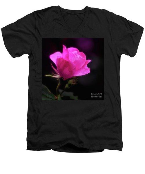 Anniversary Rose Men's V-Neck T-Shirt