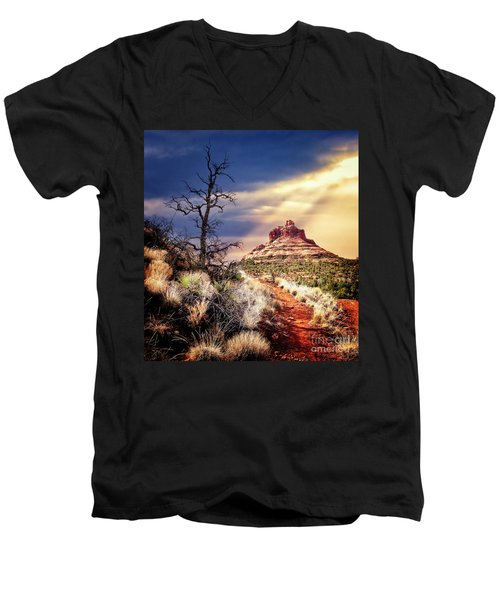 Bell Rock Men's V-Neck T-Shirt