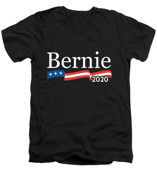 Bernie For President 2020 Men's V-Neck T-Shirt