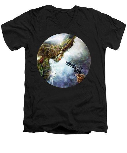 Betrayal Men's V-Neck T-Shirt