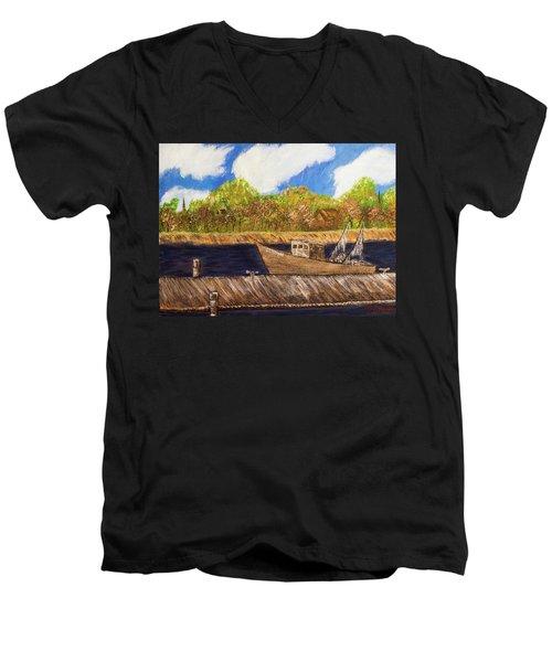 Betty Ann Men's V-Neck T-Shirt