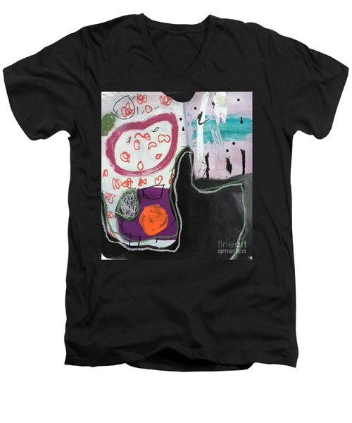 Bisou Men's V-Neck T-Shirt